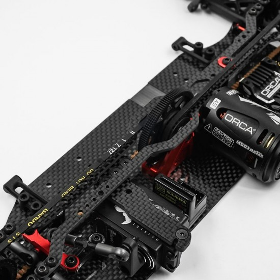 2.0mm Graphite Upper Deck For Flex Elimination For XQ10